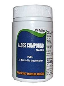 Alarsin Aloes Compound 100 Tablets ()