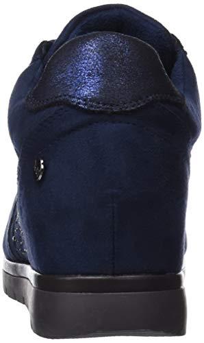 Hohe Navy Hausschuhe Blau XTI Damen 48287 Navy Wn6zER4UZ