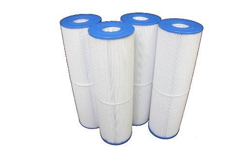 Guardian Filtration Products 4 Pack Lot Filter Cartridges FITS: C5397 UNICEL C-5397 Filbur FC-2972 Pleatco PLBS100 RAINBOW PLASTICS