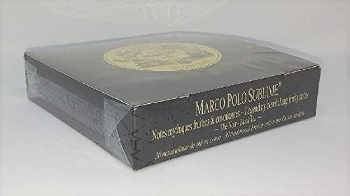 Mariage Frères – MARCO POLO SUBLIME (Jardin Premier – Legendary black tea, bewitching fruity notes) – Box of 30…