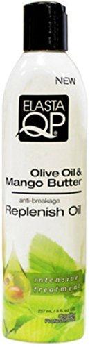 Elasta QP Olive Oil & Mango Butter Anti-Breakage Growth Oil, 8 oz by ElastaQP