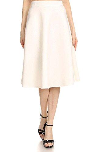 Womens A-line Knit Skirt - 9