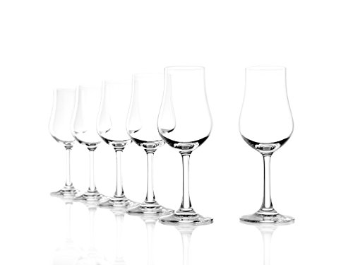 (Stolzle Classic Collection Clear Lead-Free Crystal Port Euro Brandy Glass, 6.75 Ounce, Set of 6)