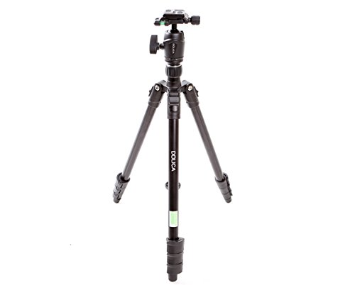Dolica AX600B250 60-Inch Aluminum Alloy Proline Traveler Edition Tripod with High Performance Ball Head (Black)