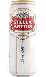STELLA ARTOIS Lager 24x 500ml Cans – 4.8% ABV