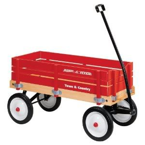 Toy / Game Radio Flyer Town And Country Wagon With Durable