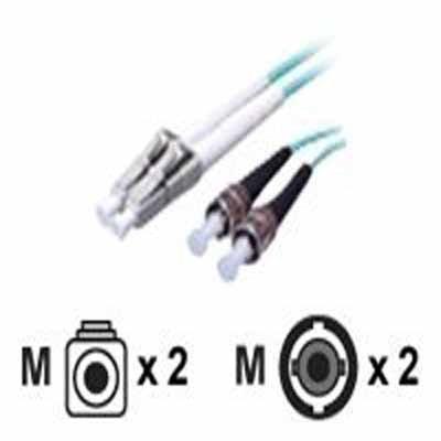 APC 12402-15M Network cable - LC multi-mode (M) - ST multi-mode (M) - 49 ft - fiber optic - 50 / 125 micron - ()