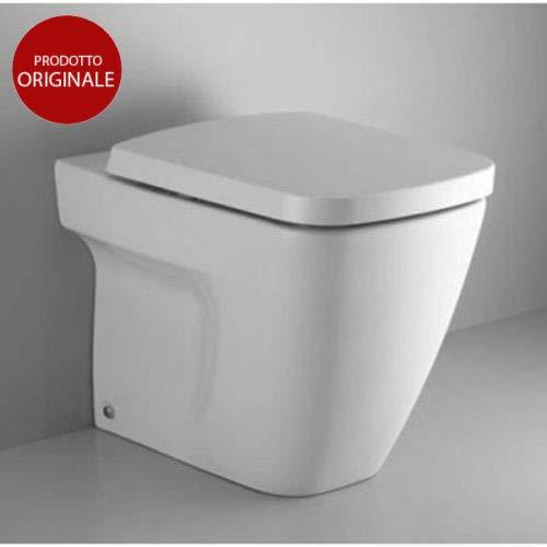 Bianco Ceramica Dolomite J438000 Sedile Termoindurente con Chiusura Rallentata Serie Mia