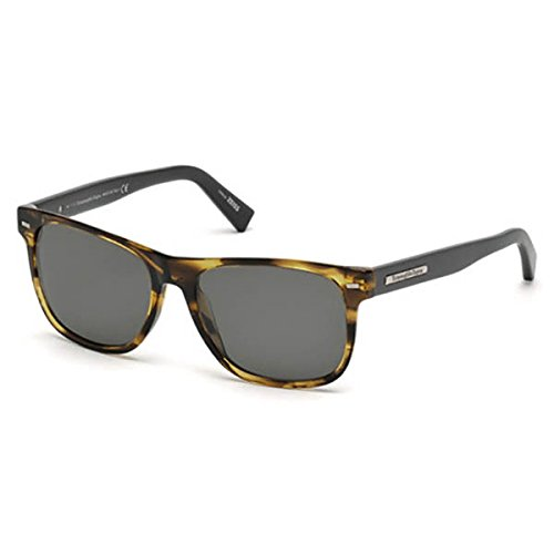 Ermenegildo Zegna Sunglasse Ez0020 (47D-LIGHT BROWNN-POLARIZED) by Zegna