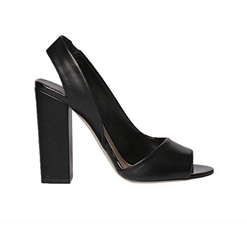 The Seller Women's Fashion Sandals Black 7lW6JEOX