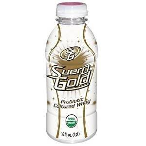 Probiotic Whey Drink Suero Gold Whole Food (12, 16 oz. bottles) - 6 Pack by Beyond Org