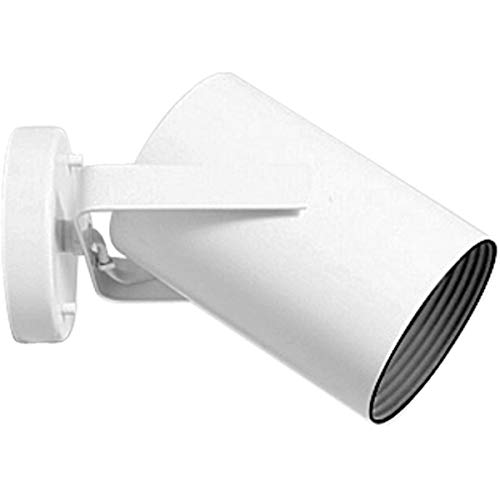 - Progress Lighting P6398-30 Adjustable Wall Or Ceiling Cylinder with Black Baffle, White