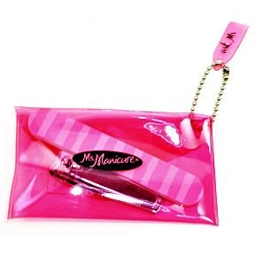 Ms. Manicure Mini Nail File and Clipper (case of 96) by Ms. Manicure