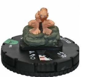 (HeroClix: Gollum # 15 (Uncommon) - Lord of the Rings)