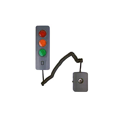 Garage Parking Sensor - Parking Sign LED Light, Garage Parking Light, Parking Aid,Suitable For Any Garage And Female Driver (Excluding Battery)