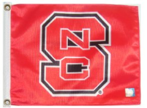 - SSP Flags Inc NC State University 11in.x15in. Flag with Grommets/Great for Boats or Golf Carts