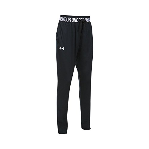Under Armor Girls' Tech Jogger, Black/Black, Youth Large
