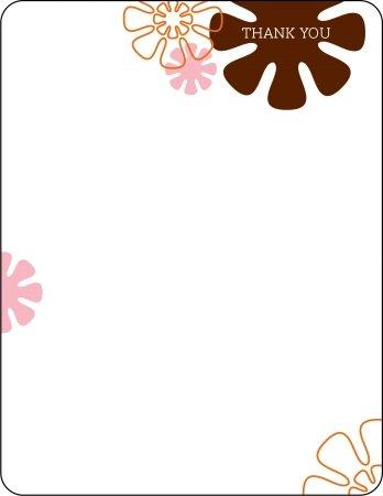 PiPo Press mimo fl n Miss Mod Flower Notecard