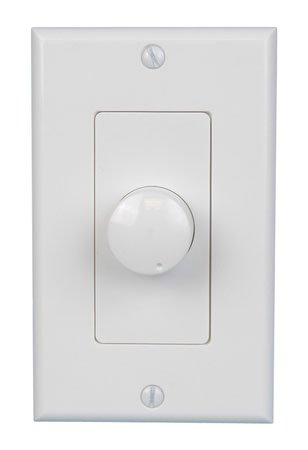 (White Decora Style Impedance Matching Volume Control)