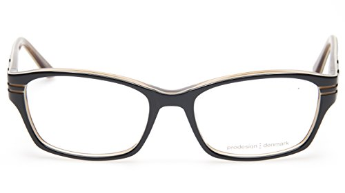 NEW PRODESIGN DENMARK 1695 c.6022 BLACK EYEGLASSES FRAME 52-17-135 B36mm - Glasses Denmark