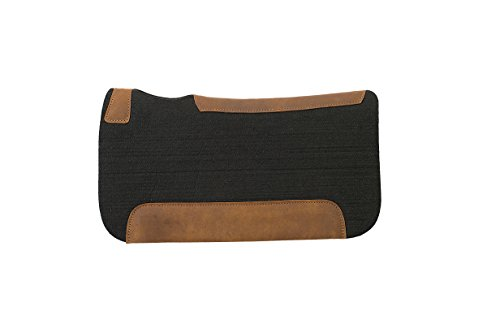 Weaver Leather All Natural 100% Wool Felt Pony Saddle Pad with Foam Insert, - Weaver Pony
