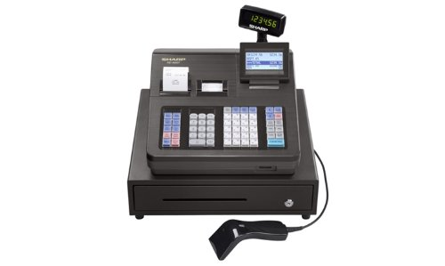 Sharp XEA507 Bar Code Scanning and Dual Receipt Cash Register