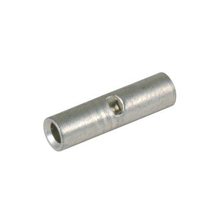 Non-insulated Butt Connector, Solid Barrel, 16-14 Ga (100 Per Quantity)