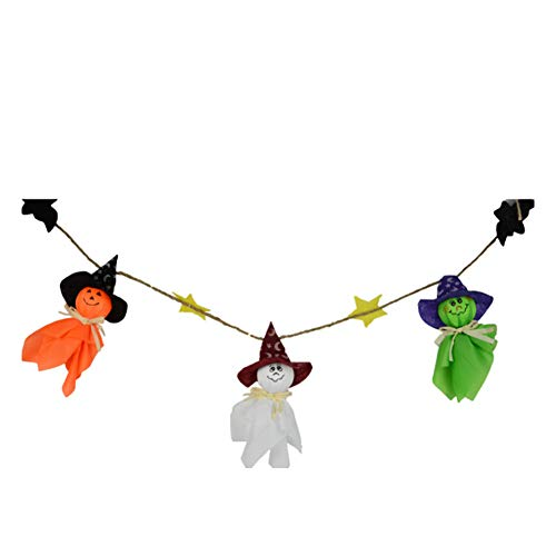Halloween Decorations Ghost Scarecrow Doll Hanging Ornaments for Halloween Party Holiday Home Bar Outdoor Decor Random Color