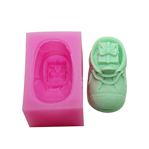 - Candle Molds - Handmade Candle Mold Diy 1pcs Christmas Gift Shoes Shaped Silicone Molds Xmas In Shoe Design Size 8. - Moon Soaps Metal Fruit Spray Cupcake Square Cylinder Votive Pillar Unicor