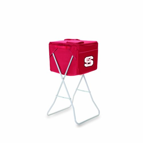 UPC 099967256742, NCAA North Carolina State Wolfpack Red Party Cube Portable Cooler with Stand