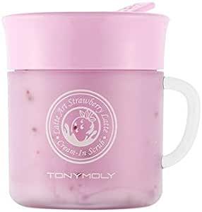 Tony Moly - Latte Art Strawberry Cream In Scrub, Exfoliante Facial, 95gr: Amazon.es: Belleza