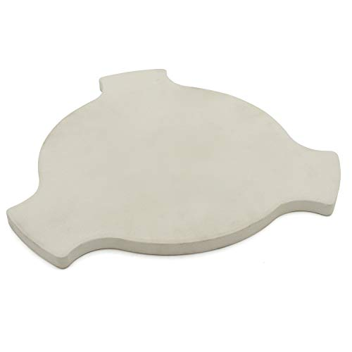 Hongso 17 5/8 Smokin Pizza Stone for Char-Griller AKORN Kamado Grills, Heat Deflector Plate Setter for Char-Griller AKORN Kamado Models 16620, 26720, 06620, 56720 and 6520, CR-18-2