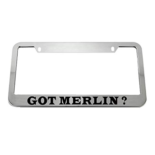 merlin license plate frame - 6