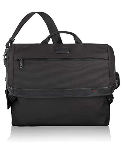 TUMI Alpha Messenger Shoulder Bag, Black, One Size