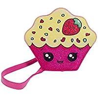 Bolsa Infantil Princesa Pink Bolsa Cupcake C/Glitter