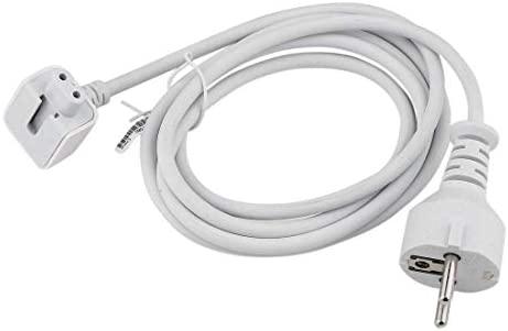 BENTECH Enchufe de extensión para Cargador Oficial de Apple. Se Adapta a Todas Las Fuentes de alimentación MacBook Air Pro Retina e iPod iPhone.