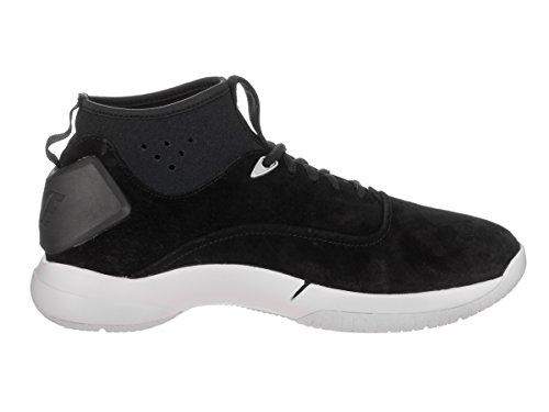 Nike Mens Hyperdunk Låg Lux Basket Sko Svart / Svart-vit