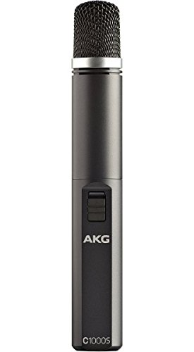 AKG C1000 S High-Performance Small-Diaphragm Condenser Microphone, Multipattern