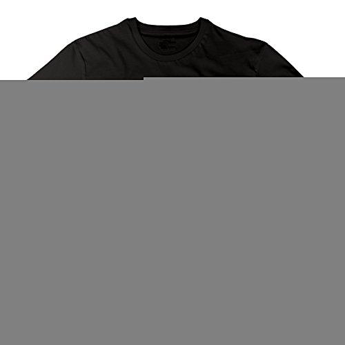 ESSES Brigham Young University BYU Hawaii Medallion Womens Crew Neck T-Shirt Black (Brigham Young University)