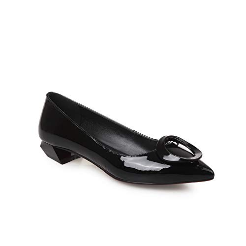 Uretano Para Adeesu Tacón Zapatos De Mujer Sdc06116 Negro X6qqTgIZw
