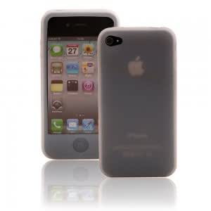 New Silicone Case for iPhone 4 White