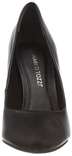 22453 2 Con Nero Marco 21 Nappa 022 Tozzi 022 Tacco black Scarpe Donna 2 aqCxtgxw