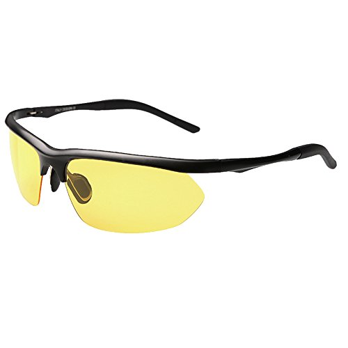 Evebright Men's Black Metal Frame Cyclin - 8124 Sunglasses Shopping Results