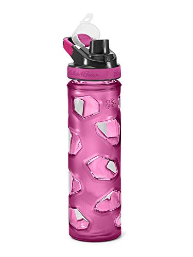(Eddie Bauer Unisex-Adult Rocktagon 22 oz Bottle, Sangria Regular ONESZE)