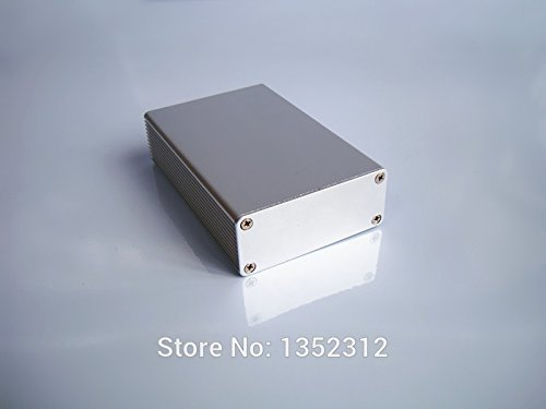 Generic One pcs 6627100mm aluminum box for electronic project power amplifier alloy case DIY instrument PCBsamll aluminum case by Generic