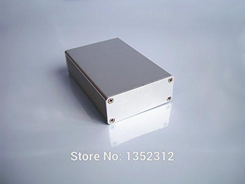 Generic One pcs 6627100mm aluminum box for electronic project power amplifier alloy case DIY instrument PCBsamll aluminum case
