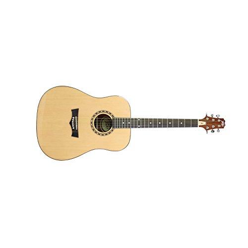 (Peavey DW-1 Acoustic Natural | 20 Frets Dreadnought Acoustic)