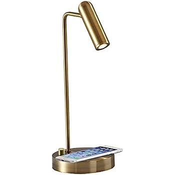 Amazon Com Adesso 4217 01 Collette Led Desk Lamp Wireless