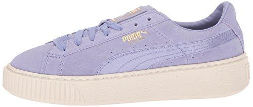 Sweet Plateau Con Scamosciato Puma Pumapuma Donna whisper 365828 Lavender Mono Satin AxwxI8P