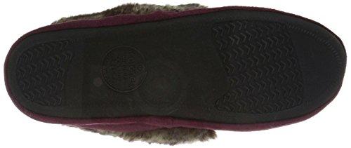 Henna Flat Women's Moc Tundra Microsuede Isotoner Purple Hazel OqYx7